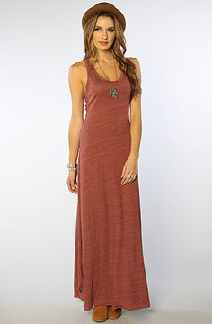 The Racer Maxi Dress in Eco True Burgundy by Alternative Apparel  #MissKL and #SpringtimeinParis