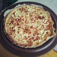 My very own grated apple pie - finnish recipe