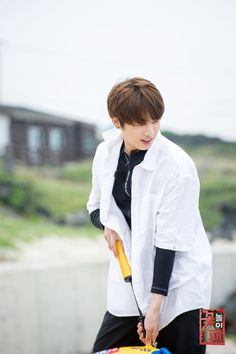 Jungkook ❤ Unreleased picture from Flower Crew, which will be broadcasted on 15 & 16 July #BTS #방탄소년단