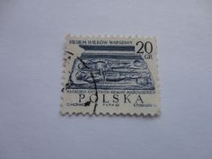 20gr Polska Postage Stamp