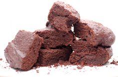 Chocolatey rich brownies, no sugar or flour