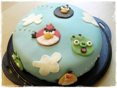 IHAN ITTE TEIN: Angry birds cake 2D
