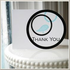 Letterpress Thank You Card for every one of our fans at BottlesUp! Glass Water Bottle, Paper Punch, Online Shopping Sites, Paper Cards, Recycled Glass, Letterpress, Thank You Cards, Circles, Card Ideas