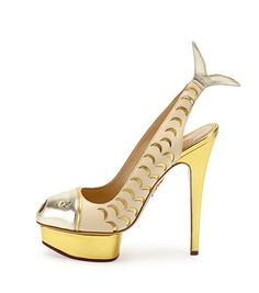 66ac41d93a3 Charlotte Olympia Catch of the Day Platform Pump