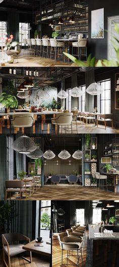 """Restaurant """"One"""" - Галерея 3ddd.ru"""