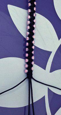 Zipper Macrame Bracelet Tutorial