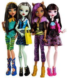 Monster High reboot dolls 2016 #HowDoYouBoo #MonsterHigh Credit to: Monster High Dolls on Facebook