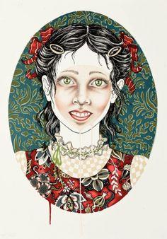 Julie Nord – Virginia. Litografi, 68 x 50 cm. Oplag: 150. Pris: 3.000 kr.