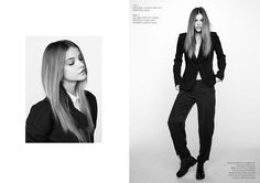 Barbara Palvin is a Beauty in Black & White for Krisztián Éder Shoot