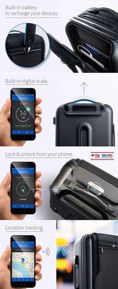 Bluesmart — Carry-On Bag