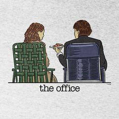 The Office Jim and Pam Roof Date Men's Tri-Blend Short Sleeve T-ShirtYou can find The office and more on our website.The Office Jim and Pam Roof Date. The Office Jim, The Office Show, Office Fan, The Office Serie, Small Office, Office Quotes, Office Memes, The Office Love Quotes, Funny Drawings
