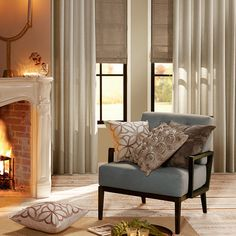 love this chair Window Coverings, Accent Chairs, Windows, Curtains, House, Furniture, Sober, Home Decor, Shabby Chic