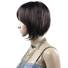 bob haircut - side view