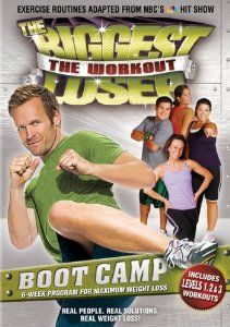 Biggest Loser: The Workout – Boot Camp On Dvd Only $3.99!