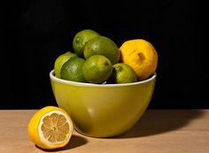 lemon & lime still life