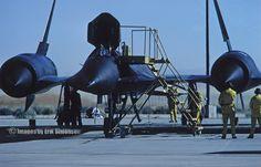 NASA/Lockheed YF-12A (#06935) prepares for a sortie at NASA DFRC during the late 1970s – Photo by Erik Simonsen