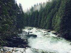 Gold Creek Falls, BC