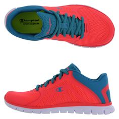 LOVE these shoes!!!!! ~ Women's Gusto Runner, Neon Coral