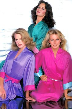 The kimono episode - Shelley Hack, Jaclyn Smith & Cheryl Ladd - Charlie's Angels