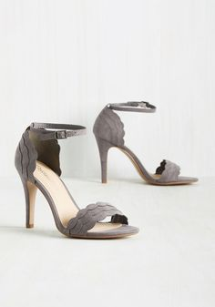 Have the World by Detail Heel in Stone. These faux-suede heels are all you need to reach your goal of being happy and successful in the realm of…