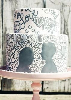 60 Inspiring And Cheerful Graffiti Wedding Ideas | HappyWedd.com