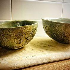 @marieskeramik  New bowls
