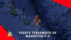 Fuerte terremoto de magnitud 7,0 y alerta de tsunami en el sudoeste del ...