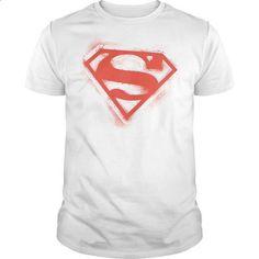 Superman Spray Paint Shield  - #graphic hoodies #mens dress shirt. GET YOURS => https://www.sunfrog.com/Geek-Tech/Superman-Spray-Paint-Shield-.html?60505