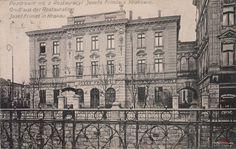 Lubicz 9, Kraków - 1910 rok, stare zdjęcia