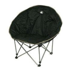 10T Outdoor Equipment Camping- Stuhl Moonchair, schwarz / silber / beige, 1032763651: Amazon.de: Sport & Freizeit