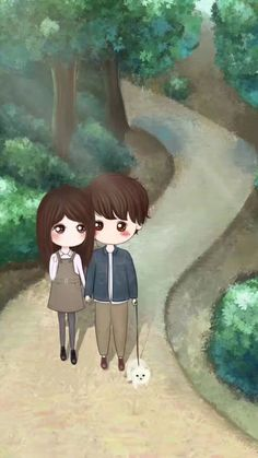 Best Images For Mobile Phone Wallpaper Love Cartoon Couple, Chibi Couple, Cute Love Cartoons, Cute Couple Art, Anime Love Couple, Cool Anime Girl, Beautiful Anime Girl, Anime Art Girl, Cute Cartoon Drawings