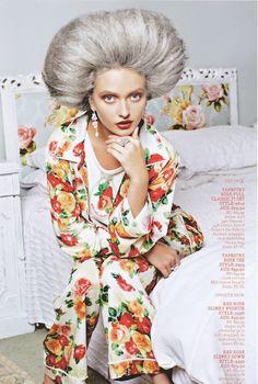 Nanna Chic: Peter Alexander PJs Catalog Pyjamas, Pjs, Anna Lee, Steven Meisel, Jane Fonda, Marie Antoinette, Glamour, Chic, Model