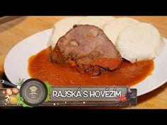 Hlavní jídla - YouTube Czech Recipes, Steak, Beef, Food, Youtube, Tv, Kitchens, Drinks, Meat