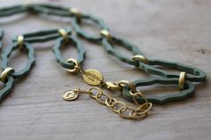 love this Cartouche Necklace from Spartina 449