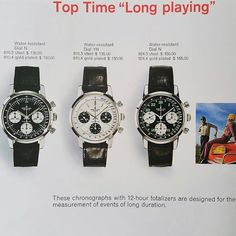 REPOST!!!  Vintage Breitling Top time add from 1969 catalog #vintagebreitling #toptime #765avi #breitling  repost | credit: ID @olivier_b_perrault (Instagram)