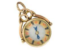 True North – Antique Gold Compass Pendant