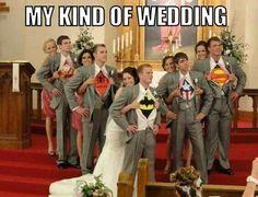 Comic wedding