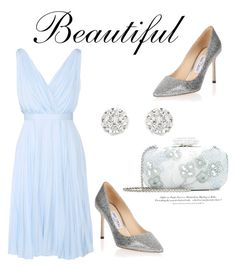 """""""306"""" by meldiana ❤ liked on Polyvore featuring Prada, Oscar de la Renta, Accessorize, Jimmy Choo and H&M"""