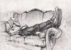 Drawing by Georgi Tandashvili