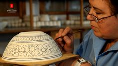 Ceramica pintada a mano, hecho a mano Ceramica Bariloche
