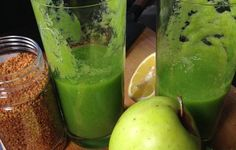Omena-selleri-inkivääri -smoothie