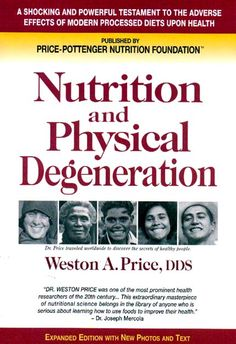 Shh... I have a secret! (Dr. Price's Nutrition and Physical Degeneration -- free!)