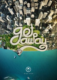 Get away on Behance