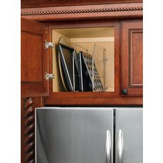 Have these. Love these. Rev-a-shelf in-cabinet metal cabinet organizer.