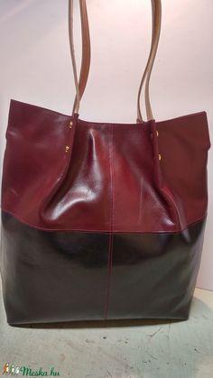 Bordó fekete shopper (fgabor1) - Meska.hu Tote Bag, Bags, Fashion, Handbags, Moda, Fashion Styles, Totes, Fashion Illustrations, Bag
