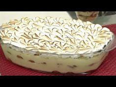 Sobremesa - Pavê de Abacaxi c / Suspiro - Delicias do Anos 80 - YouTube