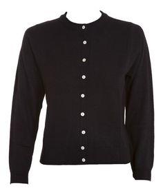Look what I found on #zulily! Black Button-Up Cardigan - Women & Plus #zulilyfinds