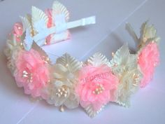 image (640×480) Ribbon Art, Diy Ribbon, Ribbon Bows, Homemade Headbands, Baby Headbands, Diy Hair Bows, Diy Bow, Tiara Hairstyles, Diy Hairstyles