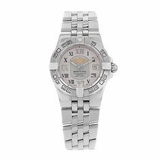 Women's Certified Pre-Owned Watches - Breitling Galatic 30 A71340L2G670368A White Dial Quartz Womens Watch Certified Preowned >>> For more information, visit image link.