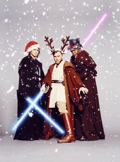 Always Star Wars: Photo Star Wars Christmas, Christmas Humor, Xmas, Merry Christmas Ya Filthy Animal, Star Wars Pictures, Christmas Time Is Here, Star Wars Party, Cool Animations, Star Wars Humor